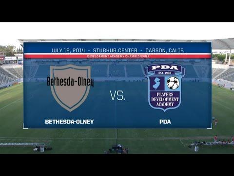 2013-14 Development Academy U-17/18 Championship: Bethesda-Olney vs. PDA