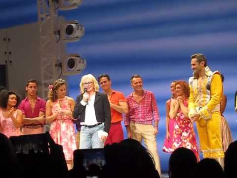 MAMMA MIA! Creator/Producer Judy Craymer's speech at Broadway's final performance 12 Sep 2015