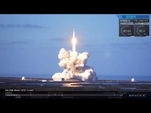 SpaceX Falcon Heavy - Tesla Roadster Launch Live Webcast and Chat