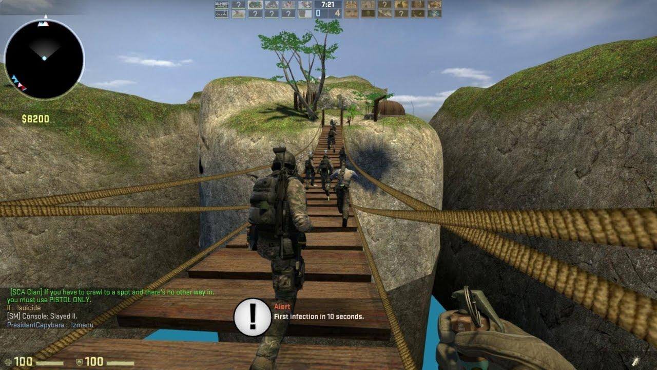 Counter strike 16 mod zombie escape