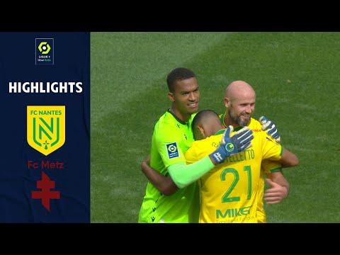 Nantes Metz Goals And Highlights