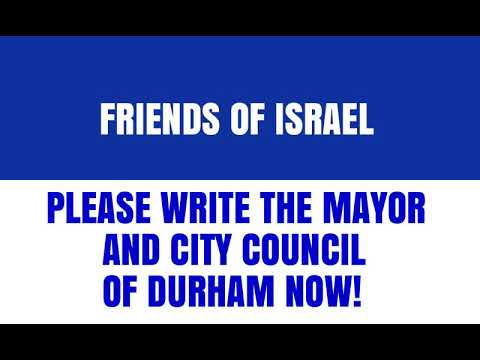 Jewish Voice For Peace Demonizes Israel At Durham Nc City Hall