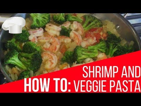 How To: Shrimp And Broccoli Pasta Recipe