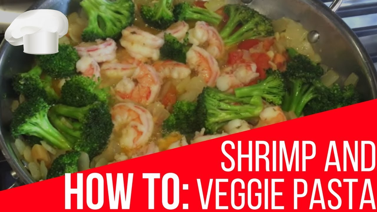 How To Shrimp And Broccoli Pasta Recipe Youtube