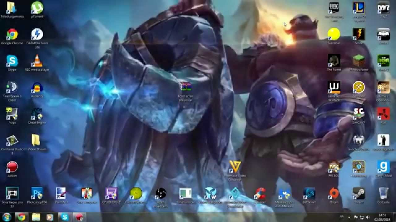 Tuto Fond Ecran Anime League Of Legends Braum Fr Youtube