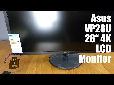 "Asus VP28U 28"" 4K LCD Monitor Unboxing"