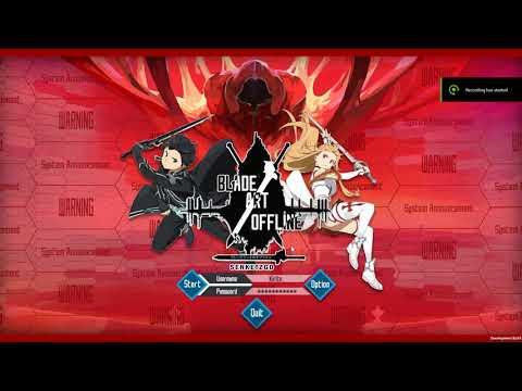 Blade Art Offline - Update V1 (Unity 3D Tribute SAO Fan Game)