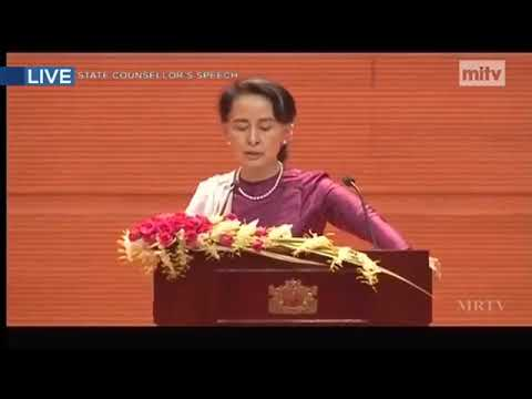 Daw Aung San Suu Kyi Speech on National Reconciliation and Peace