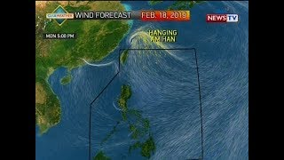 BP: Weather update as of 4:40 p.m. (February 18, 2019)