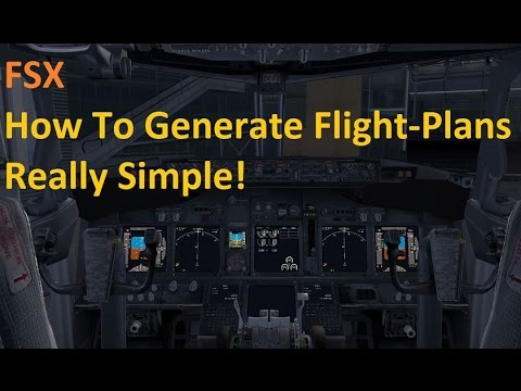 FSX Tutorial : How To Create Flight Plans For Your PMDG Aircrafts