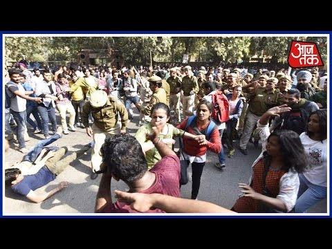 Dastak: Protesters Chant 'Azaadi' For Kashmir At Ramjas College; Video Goes Viral