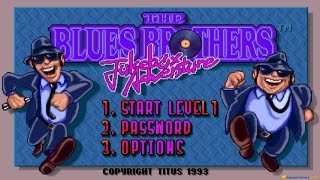 Blues Brothers 2 gameplay (PC Game, 1993)