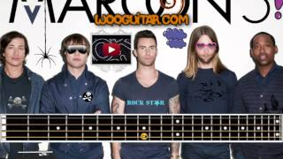 Maroon 5 Maps Bass Cover Lesson
