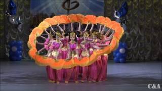 Chinese dance Роза ветров Китайский танец Ювентус Донской