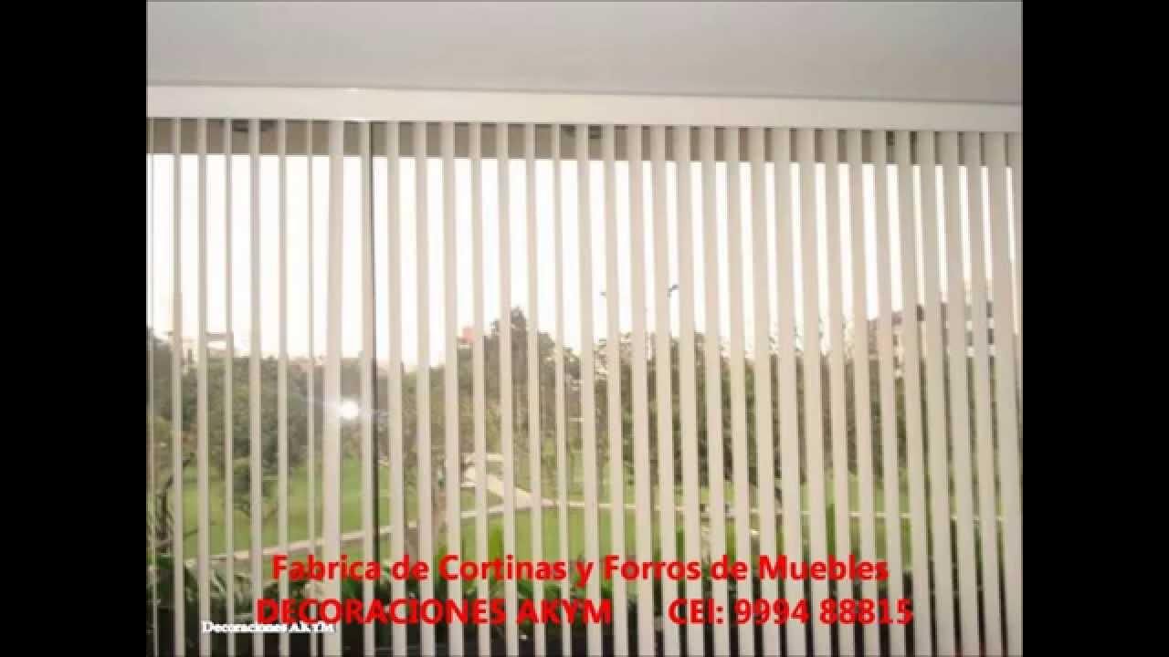 Fabrica de cortinas y forro de muebles decoraciones akym - Cortinas y decoraciones ...