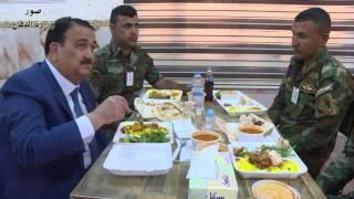 وزير الدفاع يجري جولة ميدانية داخل أروقة احدى الوحدات العسكرية