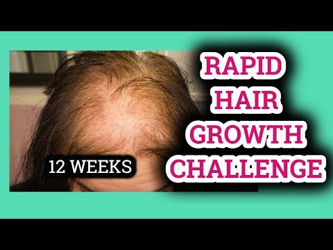 12 WEEK RAPID HAIR GROWTH CHALLENGE WITH JUNE PENNY 4/1/19