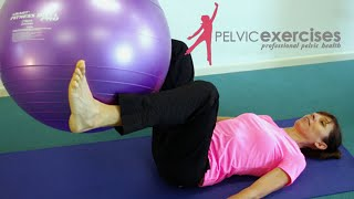 Unsafe Abdominal Ball Exercise Workouts With Prolapse Problems