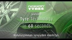 Rengasteknologiaa 60 sekunnissa: Kulutuspinnan syvyyden merkitys