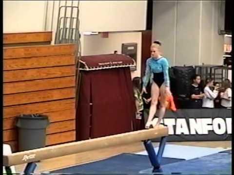 Kristin Parker - 2001 UCLA @ Stanford Balance Beam