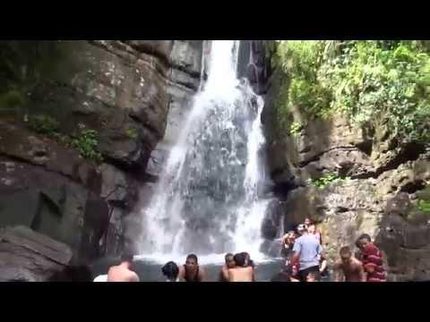 El Yunque National Forest, Puerto Rico - La Mina Falls HD (2015)