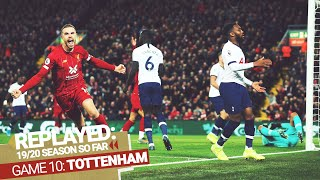 REPLAYED: Liverpool 2-1 Tottenham Hotspur | Henderson and Salah turn it round against Tottenham