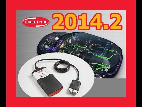 delphi ds150e new vci with dongle 2014 release 2 2014 2. Black Bedroom Furniture Sets. Home Design Ideas