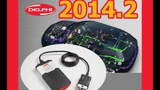 Delphi DS150E New VCI with Dongle 2014 release 2 - 2014.2