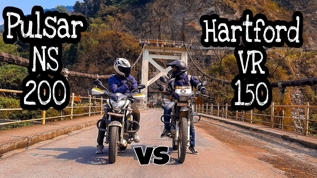 Download NS 200 VS VR 150 // Ride To Tanahun