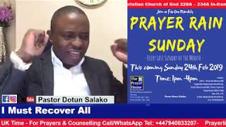 Dealing with the Problem of Evil Foundation - Pastor Bola Salako