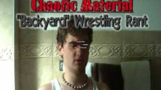 """Backyard Wrestling Weekly - """"Faces Of BYW"""" Feat. Cassias Chaos Part 2"""