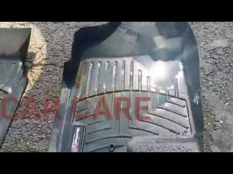 How to clean  and detail WeatherTech mats HD