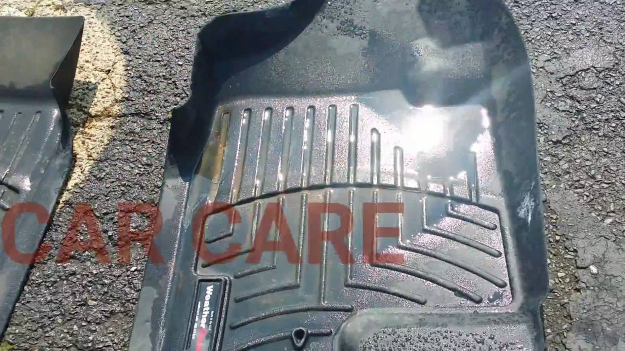 How To Clean And Detail Weathertech Mats Hd Youtube