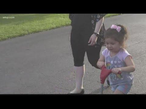 Kari Steele - Batman Walks Toddler To School After Bullying Incident
