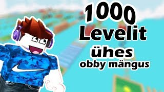 Roblox Mega Fun Obby (1000 LEVELIT!!)-let's do this!