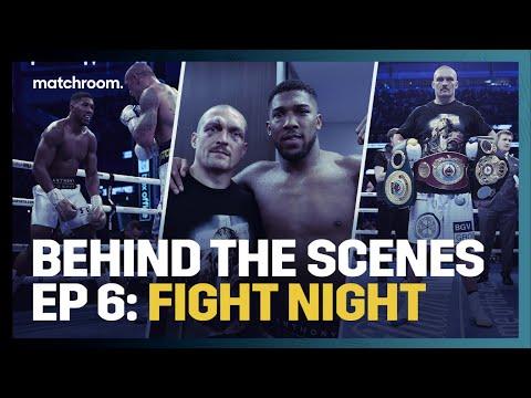 Fight Night: Anthony Joshua vs Oleksandr Usyk (Behind The Scenes)