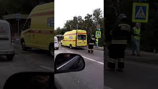 ДТП в Оренбурге, видео из соцсетей