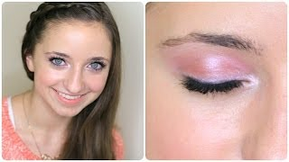 Beginner Valentine's Day Makeup Tutorial | Brooklyn and Bailey