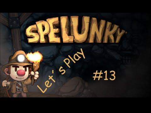 Let´s Play Spelunky #13 - ...nicht die Flinte ins Korn werfen [German] [HD]