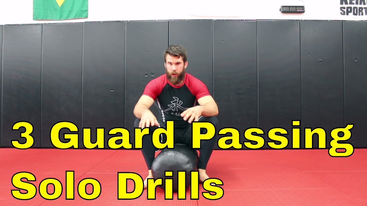 3 BJJ Solo Drills and How To Use Them During a Match or Rolling