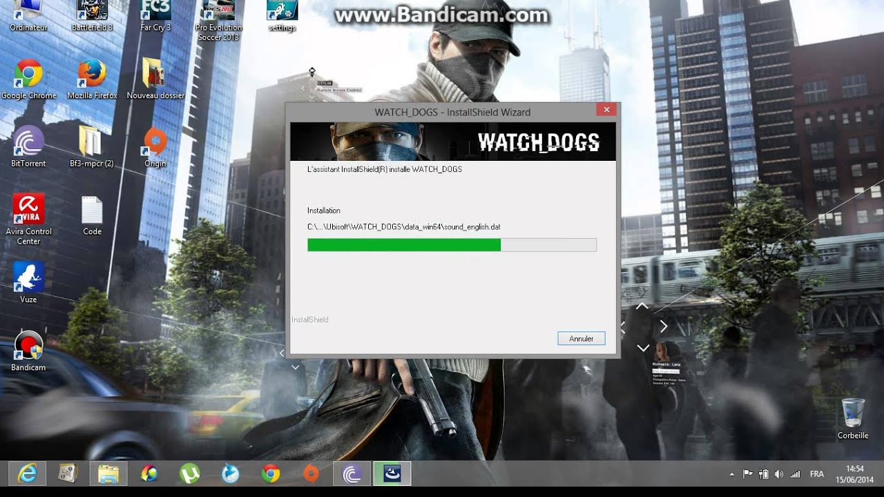 How to install WATCH DOGS [pc] - YouTube