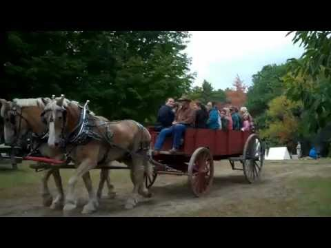 Living History Days at Maine Forest and Logging Museum