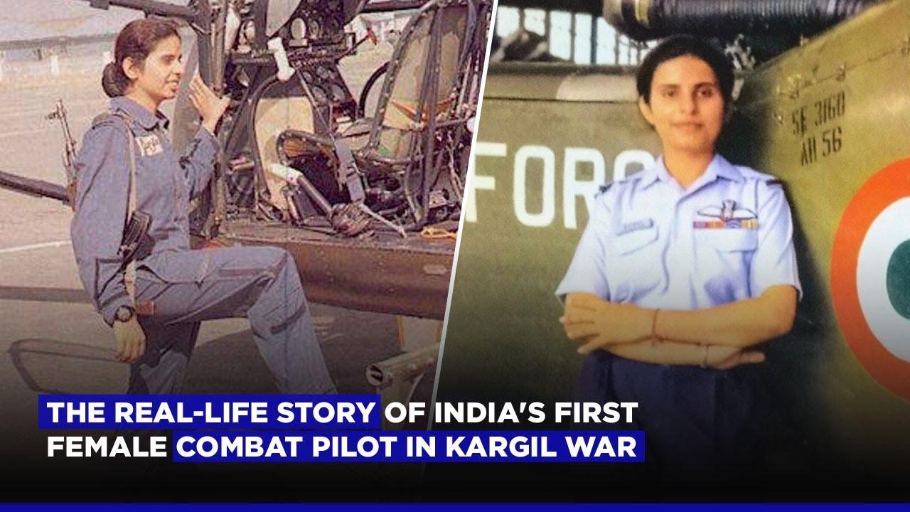 Gunjan Saxena The Real Life Story Of India S First Female Combat Pilot In Kargil War Youtube