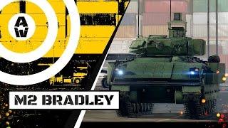armored warfare боевая машина пехоты m2 bradley