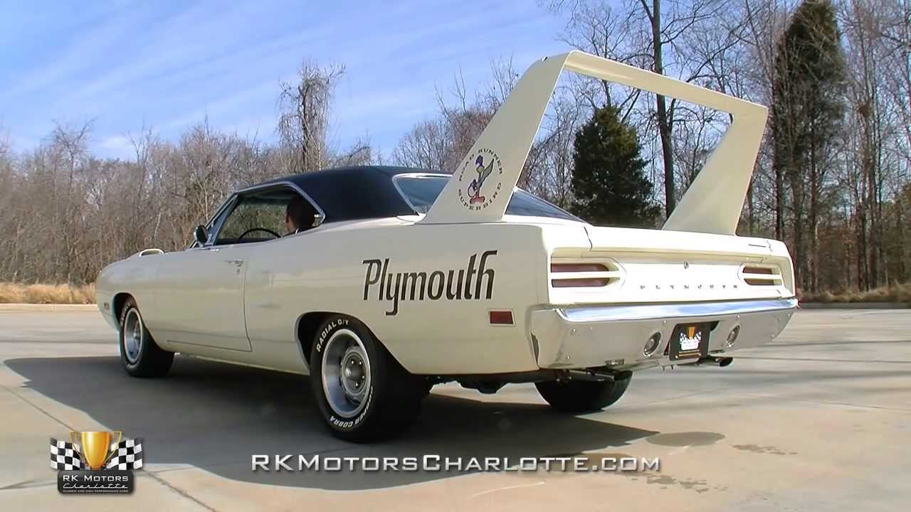 134545 / 1970 Plymouth Road Runner Superbird - YouTube