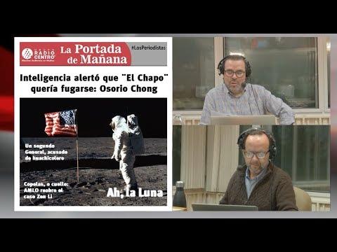 EN VIVO l Inteligencia ALERTÓ que EL CHAPO quería FUGARSE: OSORIO CHONG