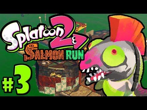 Splatoon 2 ~ Salmon Run - New Map: Marooner's Bay - Nintendo Switch Gameplay Walkthrough PART 3