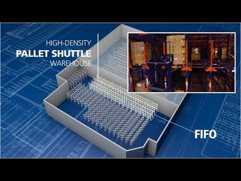 pallet shuttle system