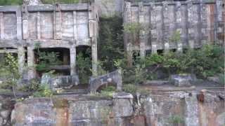 ドローン空撮 上北鉱山跡地 2012_09_17