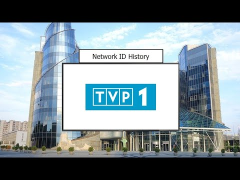 TV Network ID History Compilation: TVP1 (Poland) - 1952-Pres